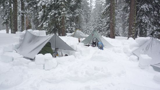 Winter Backpacking Shelters & Winter Weather Backpacking | Wild Backpacker