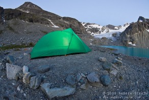 Alpine Lake Backpacking Tent by Andrew Strain