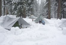 Winter Backpacking Shelters