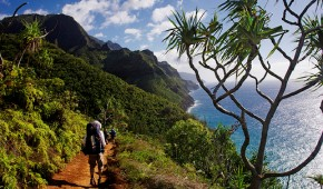 Kalalau Trail, Kauai, Hawaii